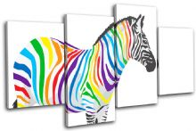 Abstract Zebra Animals - 13-1856(00B)-MP04-LO